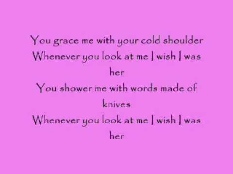 cold shoulder, made famous by adele