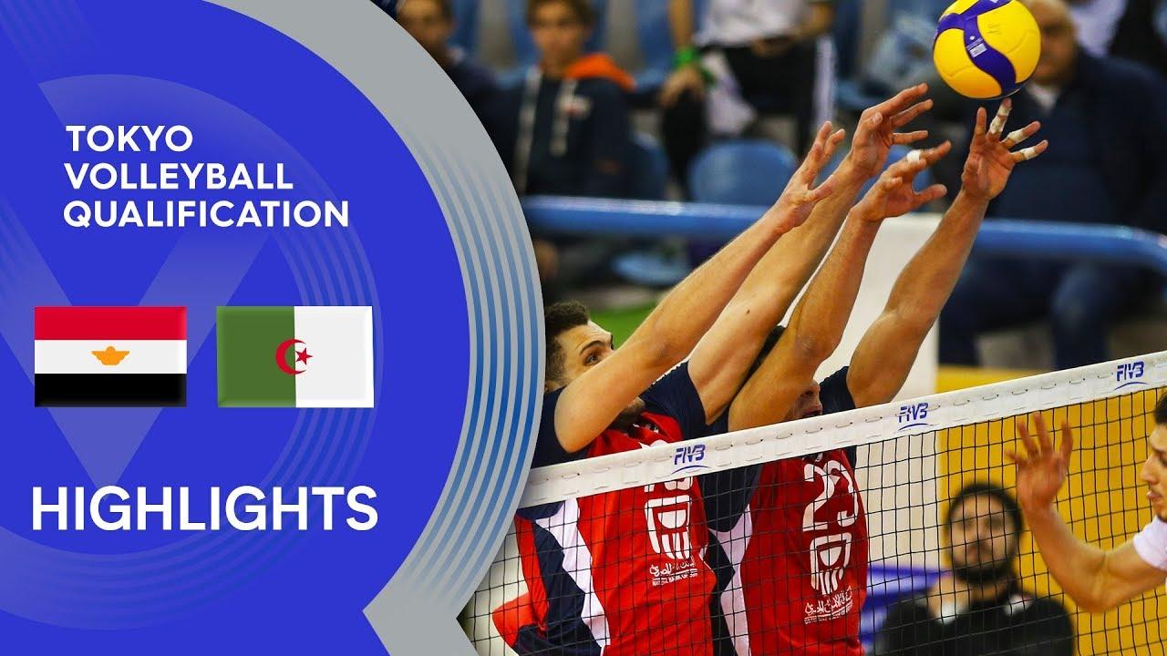 Download Egypt vs. Algeria - Highlights | CAVB Men's Tokyo Volleyball Qualification 2020