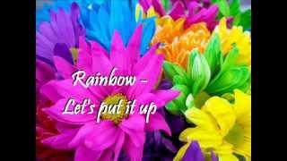 Rainbow - Let's put it up (+english lyrics)
