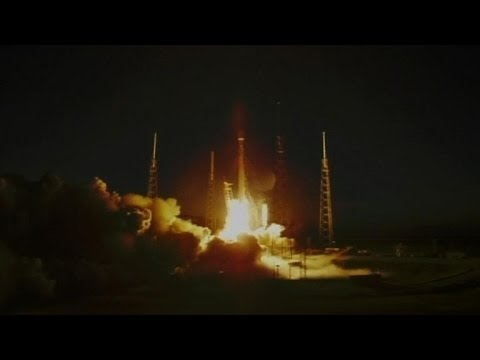 Third time a charm: SpaceX launches commercial satellite