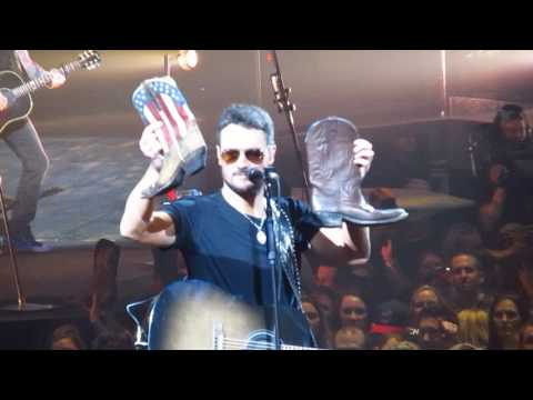 Eric Church at Quicken Loans Arena These Boots