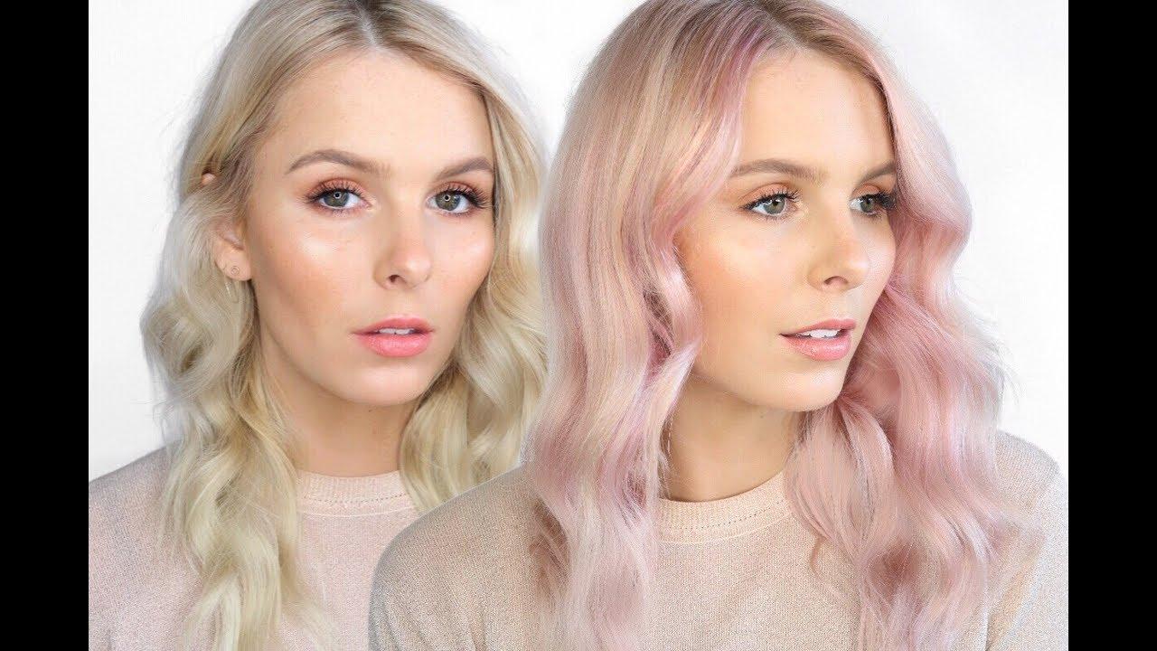 Diy Pink Hair Using L Oreal Colorista Rachael Brook