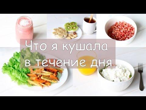 Что я ем? | Дневник питания | WHAT I EAT IN A DAY #3 - Простые вкусные домашние видео рецепты блюд