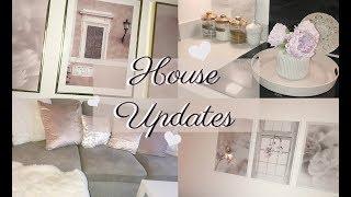 HOUSE UPDATES! BLUSH PINK / WHITE / GREY! FT. DESENIO, THE RANGE, MATALAN HOME, HOME BARGAINS
