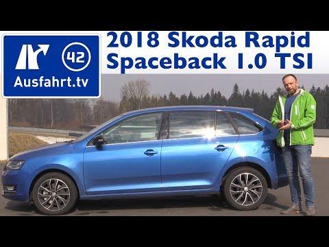 2018 Skoda Rapid Spaceback 1.0 TSI 110 PS MT - Kaufberatung, Test, Review