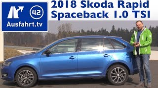 2018 Skoda Rapid Spaceback 1.0 TSI 110 PS MT - Kaufberatung, Test, Review