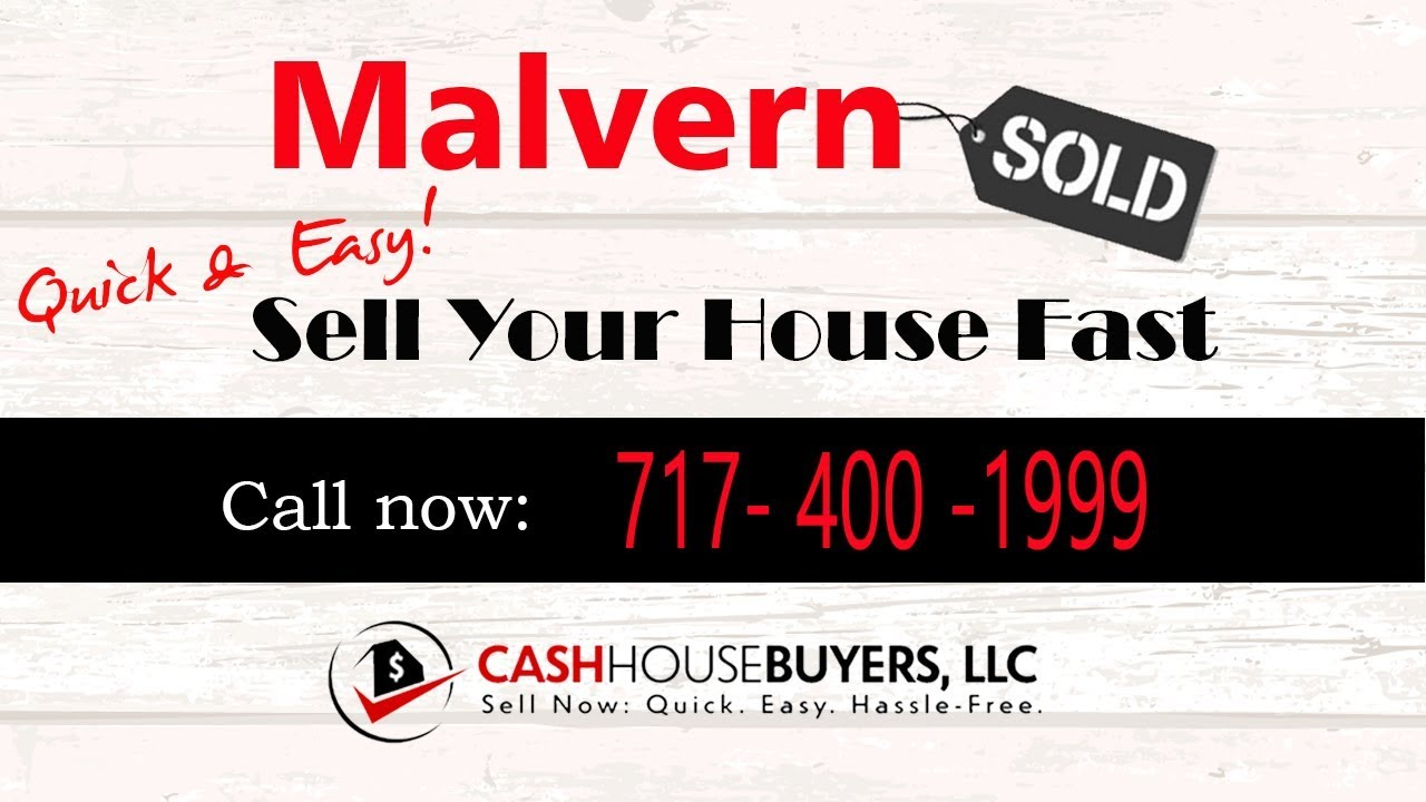 HOW IT WORKS We Buy Houses Malvern PA | CALL 717 400 1999 | Sell Your House Fast Malvern PA