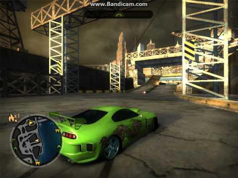 дрифт в игре Need For Speed Most Wanted Опасный поворот