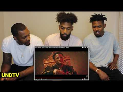 Gucci Mane ft. Chris Brown - Tone It Down [REACTION]