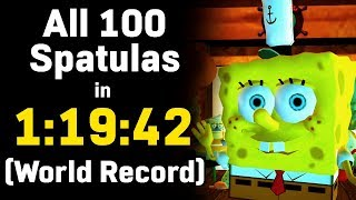 Battle for Bikini Bottom 100% in Under 80 Minutes! (Speedrun World Record, 1:19:42)