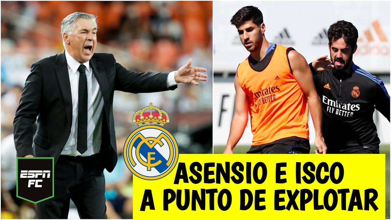 LA LIGA Ancelotti ADMITE que hay descontento en la plantilla del Real Madrid. Hará cambios