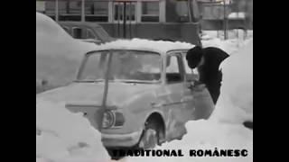 Asa erau iernile in urma cu 50 de ani !