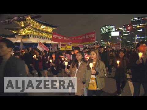 Thumbnail: South Korea protests continue