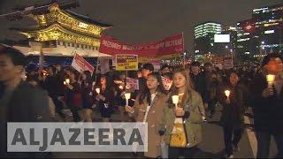 South Korea protests continue
