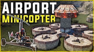 Running an AIRPORT SERVICE for ROLEPLAYERS  - Rust Shop Series