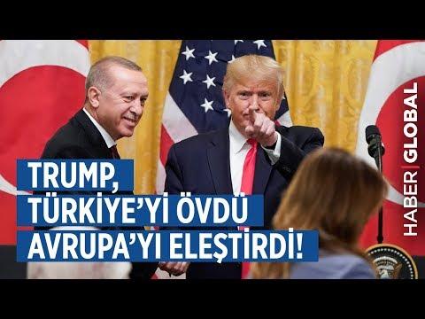 Trump Türkiye'yi Övdü Avrupa'yı Eleştirdi