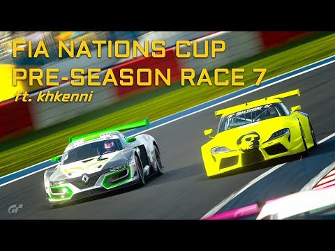 NICE QUALIFYING - FIA PRE-SEASON RACE 7 - NATIONS CUP ft khkenni!