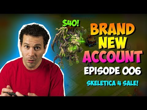 NEW ACCOUNT Episode 6: Skeletica 4 Sale!