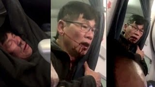 Celebs React to United Airlines Passenger Being VIOLENTLY Removed from Plane