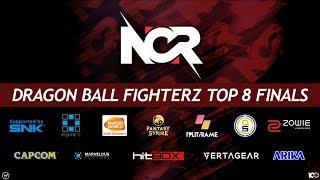 NCR 2018 - Dragon Ball FighterZ Tournament - Top 8 Finals ft. Go1, ChrisG, Moke