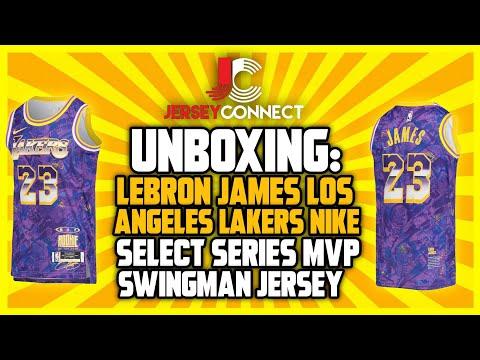 UNBOXING: Lebron James Los Angeles Lakers Nike Select Series MVP Swingman NBA Jersey