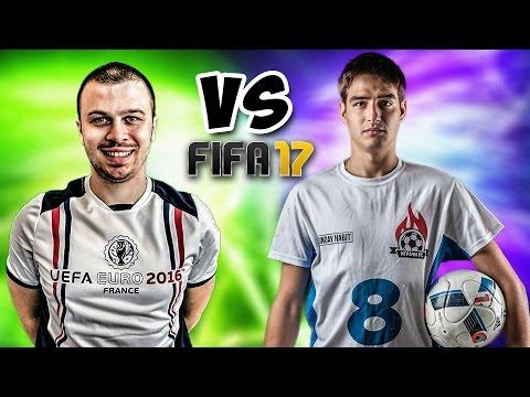 FIFA 17 - Краси играе срещу Христо - Българският ФИФА 17 Мач на звездите