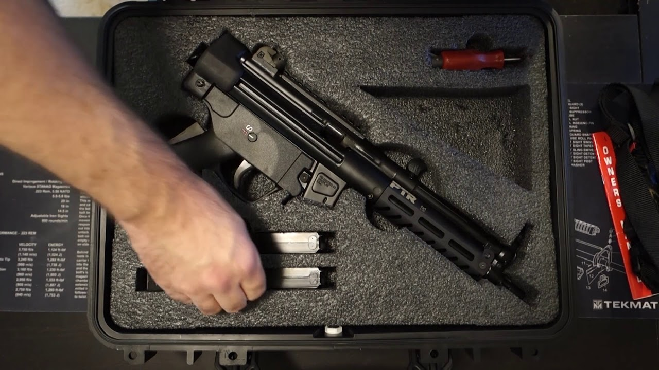 ptr 9c review the h k mp5 clone youtube