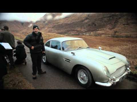 Bond's DB5 Is Back In SKYFALL