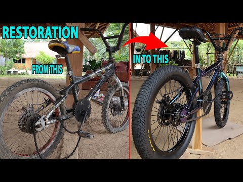 RESTORATION BMX BIKE CARIBOU thumbnail