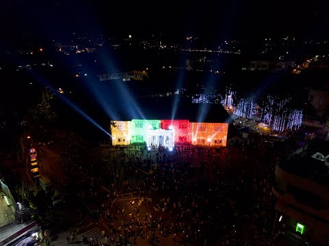 Symphony of Lights at Cagayan de Oro City Hall Aerial Coverage Highlights 4K