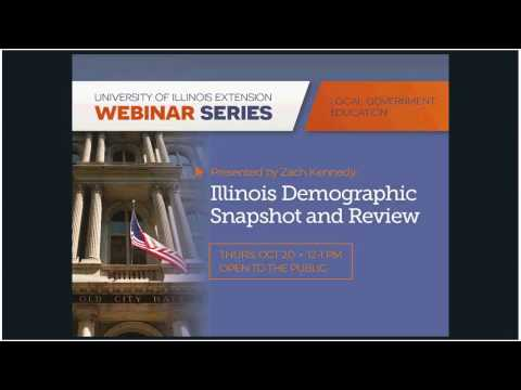 Illinois Demographic Snapshot and Review - Thursday, October 20, 2016