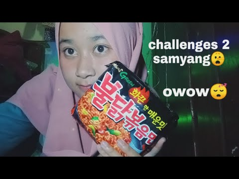 Kepedesan Makan Samyang #challenges