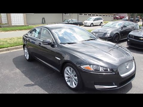 2013 Jaguar XF Supercharged Walkaround, Start up, Exhaust, Tour and Overview