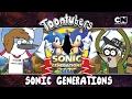 Sonic Fitness, CHORA PUGLI!!!  | Toontubers | Cartoon Network