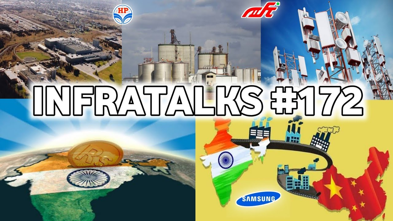Infratalks #172 - India Becomes 5th Largest FDI Receiver, Samsung Kicks China For India, New Airport