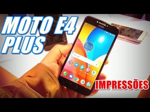 Moto E4 Plus - Conheça as Impressões desse LANÇAMENTO da Motorola!