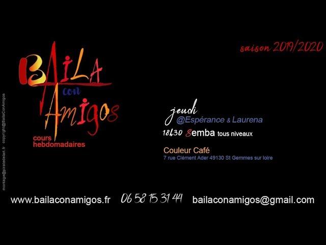 Baila con Amigos - cours de Semba
