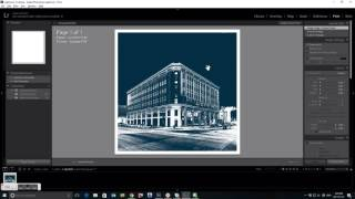Adding a White Border to a Photo in Lightroom