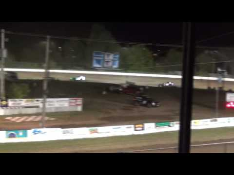 Jesse Glenz Wissota Mod Red Cedar speedway 2nd place finish