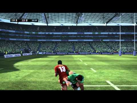 Rugby Challenge - Full Field Gameplay Trailer