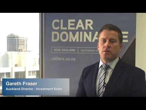 Colliers International Auckland director comments on metro office market