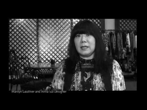 Anna Sui interview 1/1