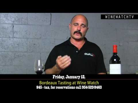 Bordeaux Tasting at Wine Watch First Walk Around of 2017 - click image for video