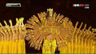 2009 Deaflympics ACT5 Part2  Avalokitesvara Bodhisattva 聽障奧運開幕式 千手觀音 HD