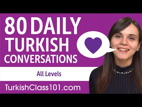 2 Hours of Daily Turkish Conversations - Turkish Practice for ALL