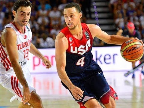Basketball World Cup 2014 Turkey vs United States