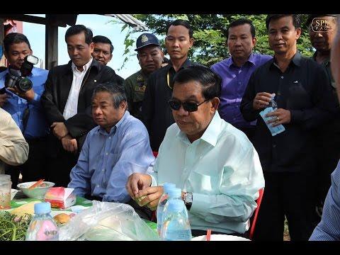17 September 2016 (PM) – Samdech Techo Hun Sen visits Steung Treng