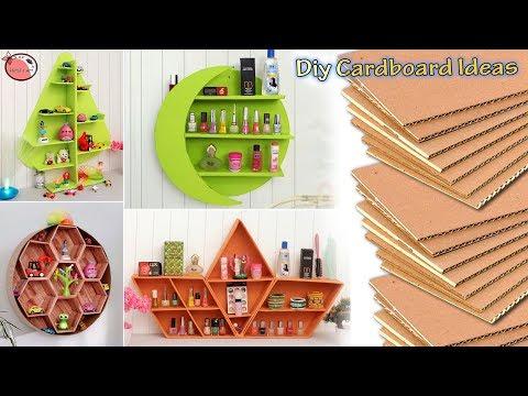 8 Waste Cardboard Beautiful Home Organization Ideas At Home !!! Handmade Things