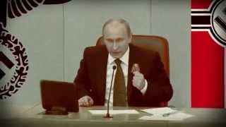 Стыдно быть русским.  Путин как Гитлер Австрию аннексирует Крым
