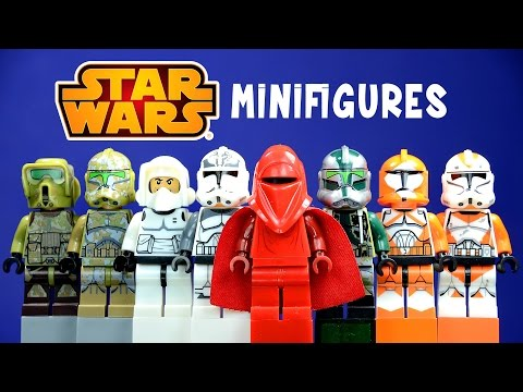 LEGO Star Wars Clone Troopers KnockOff Minifigures Set 7 Commander Gree Kashyyyk Royal Guard